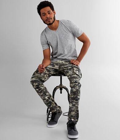 Smoke Rise® Camo Cargo Taper Stretch Pant