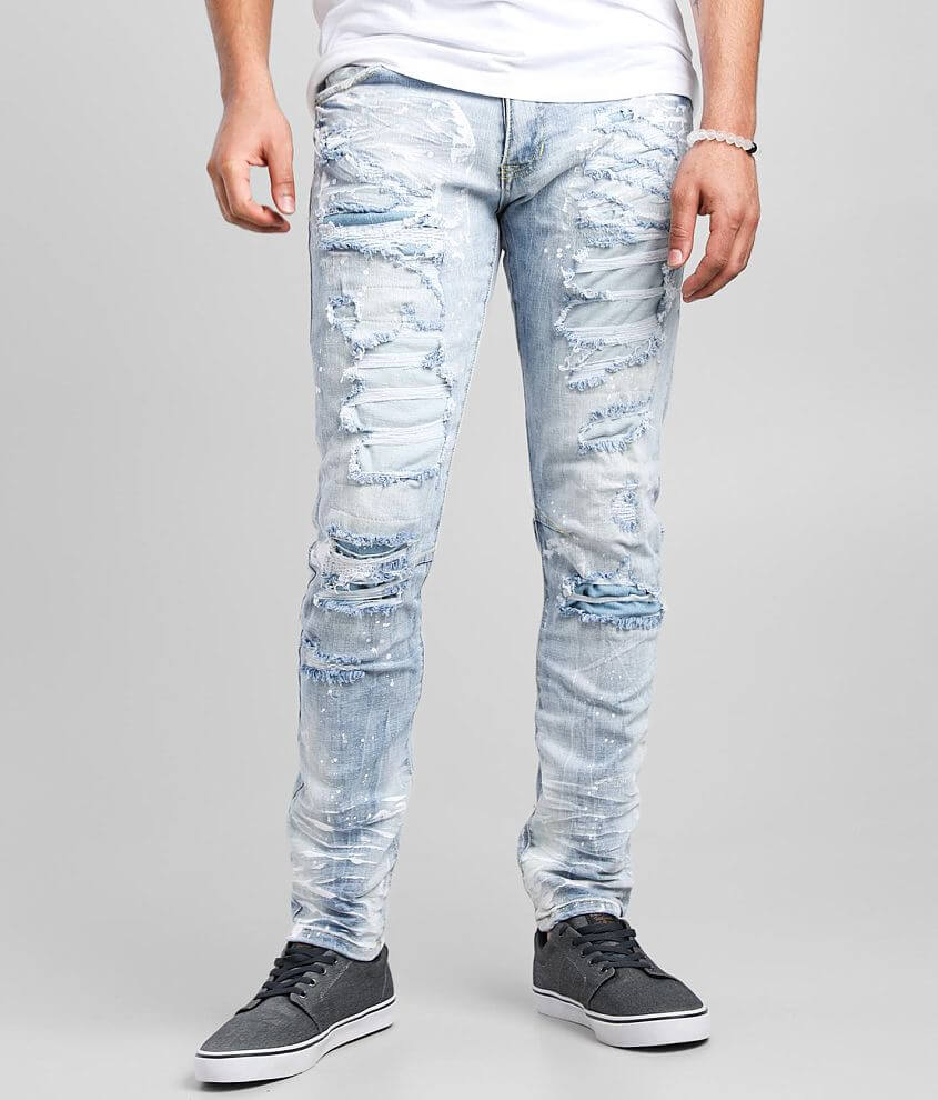 Smoke Rise® Montauk Taper Stretch Jean front view