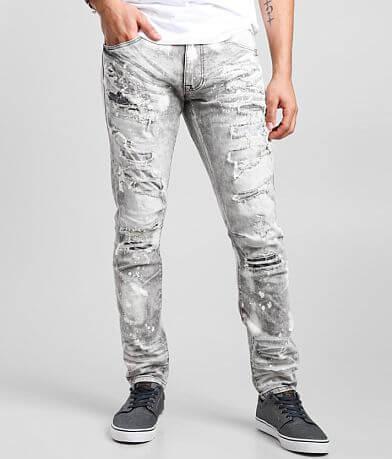 Smoke Rise® Frost Grey Taper Stretch Jean