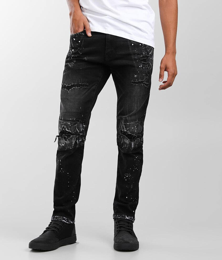 Smoke Rise® Taper Stretch Jean front view
