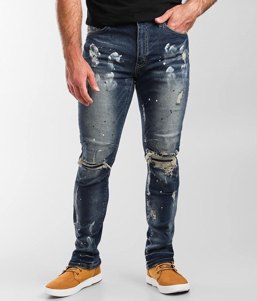 Smoke Rise® Vintage Taper Stretch Jean front view