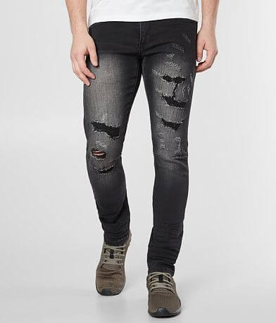 Smoke Rise® Washed Skinny Stretch Jean
