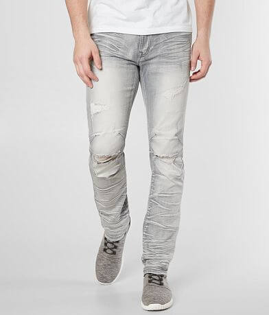 Smoke Rise® Washed Taper Stretch Jean