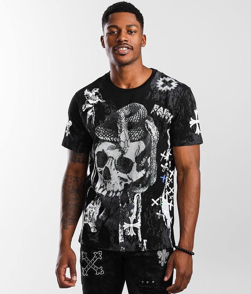 Smoke Rise® Skeleton Stones T-Shirt front view