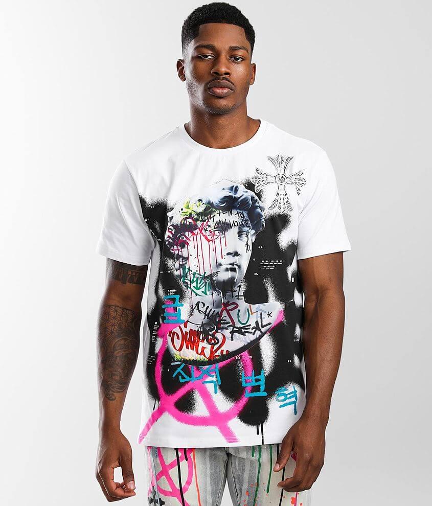 Smoke Rise® Graffiti T-Shirt front view