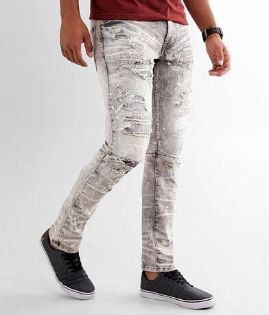 Smoke Rise® Moto Taper Stretch Jean