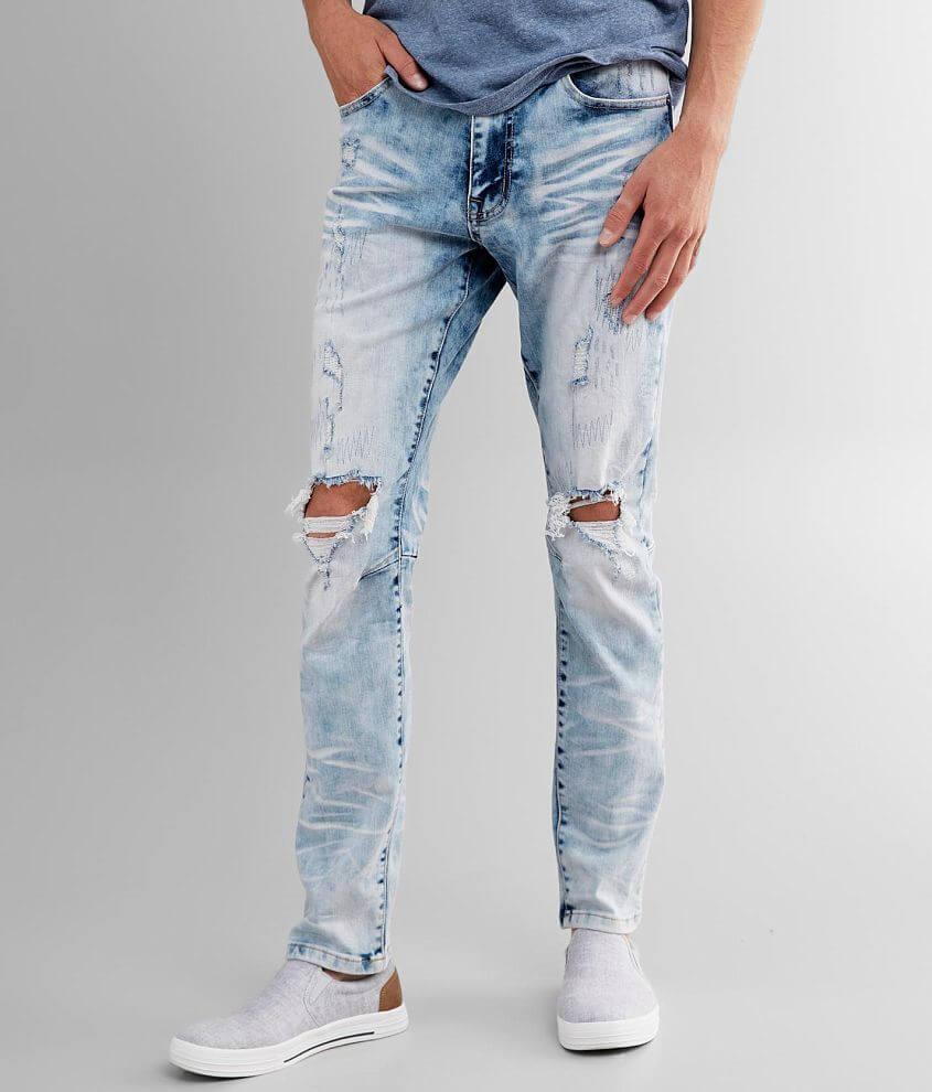 Smoke Rise® Marina Taper Stretch Jean front view