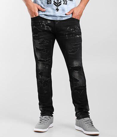 Smoke Rise® Dusty Taper Stretch Jean
