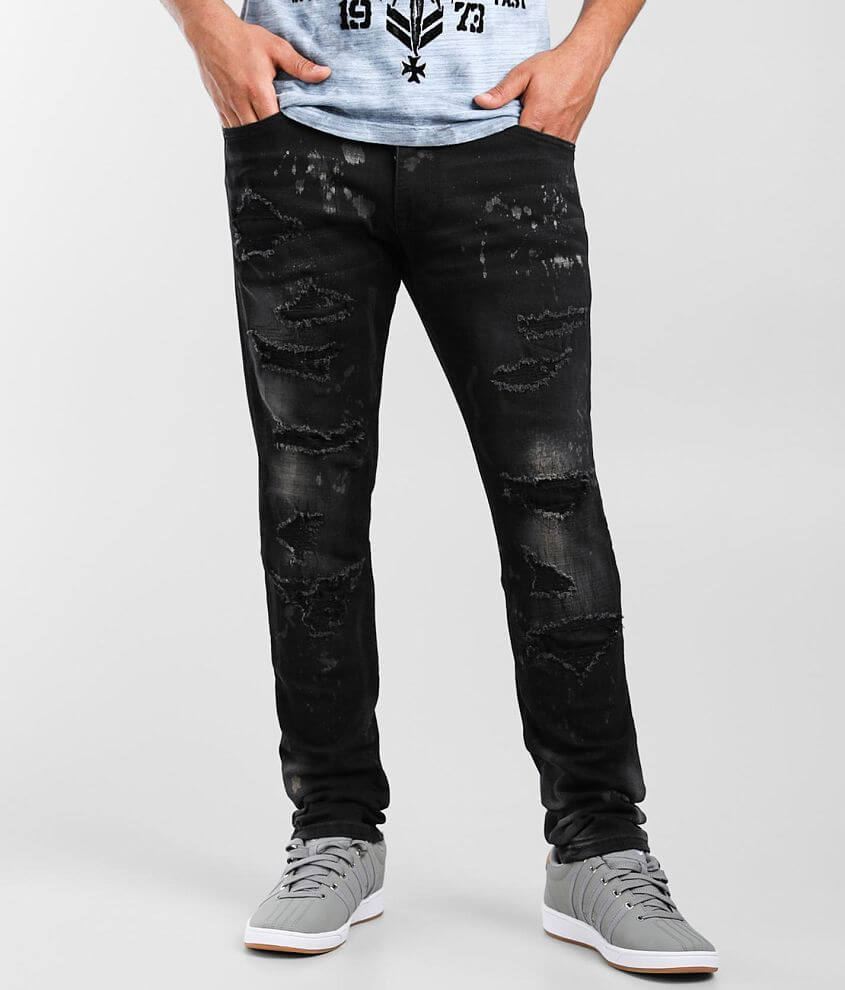 Smoke Rise® Dusty Taper Stretch Jean front view