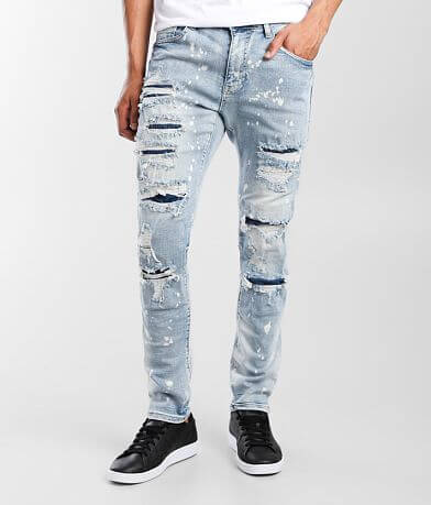 Smoke Rise® Bowery Taper Stretch Jean