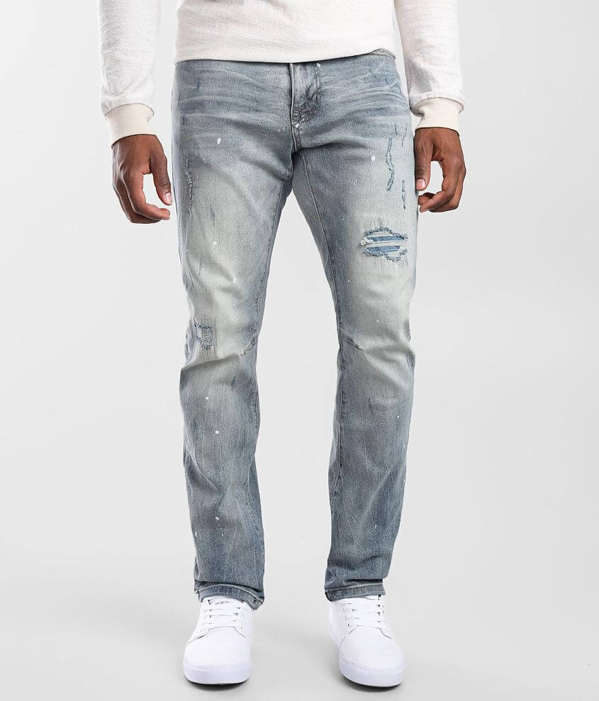Smoke Rise® Suffolk Taper Stretch Jean front view