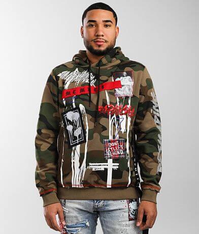 Smoke Rise® Camo Hooded Sweatshirt