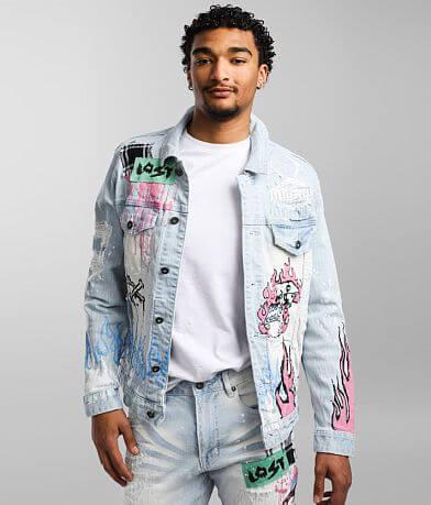 Smoke Rise® Speckle Denim Stretch Jacket