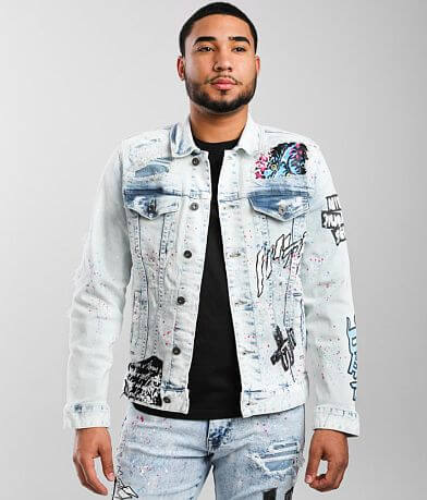Smoke Rise® Illusion Denim Stretch Jacket
