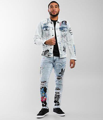 Smoke Rise® Illusion Taper Stretch Jean