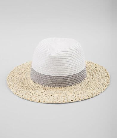 Color Block Panama Hat