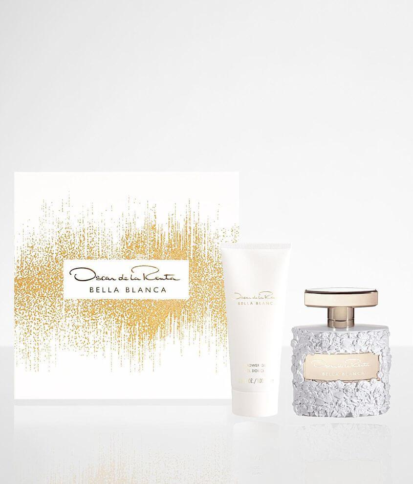 Oscar de la Renta Bella Blanca Fragrance Gift Set front view
