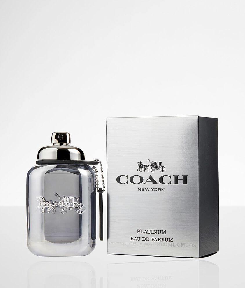 Coach Platinum Cologne front view