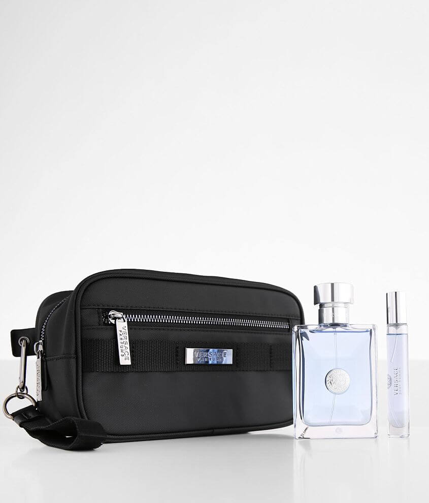 Versace Pour Homme Cologne Gift Set front view