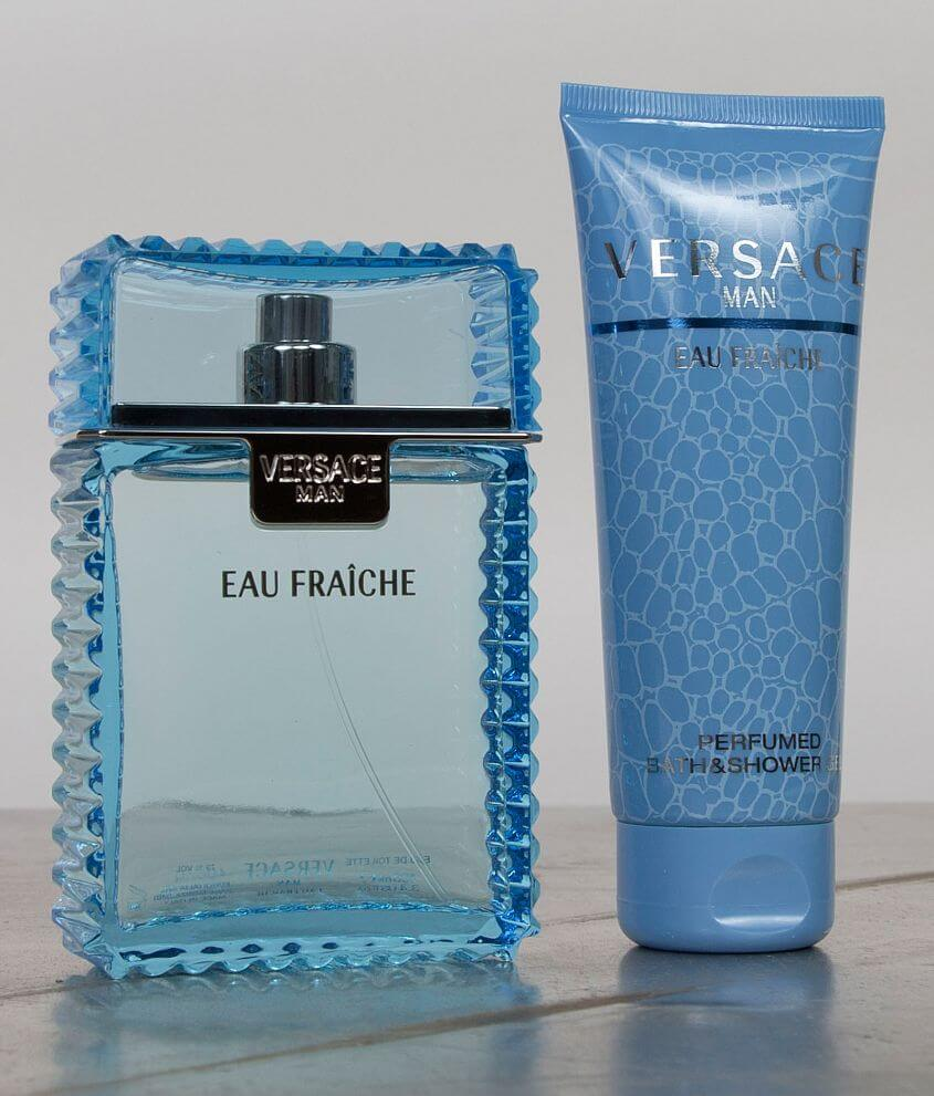 Versace Man Cologne Gift Set front view