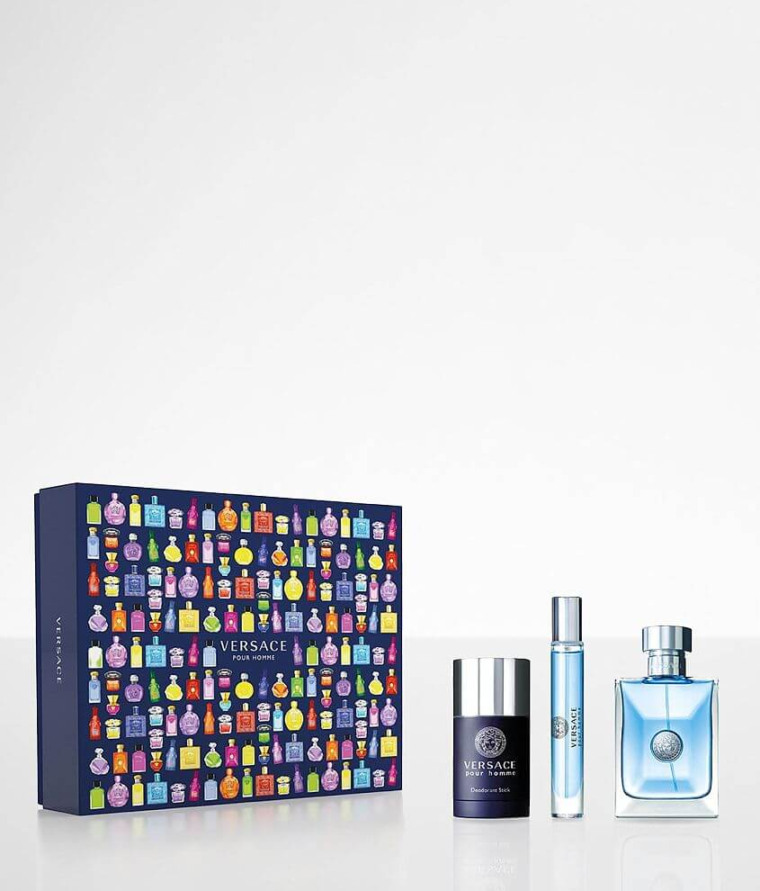 Versace Pour Homme Gift Set front view