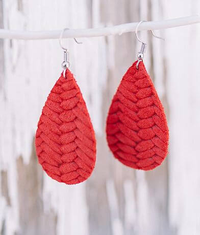 Nichole Lewis Designs Mini Leather Earring