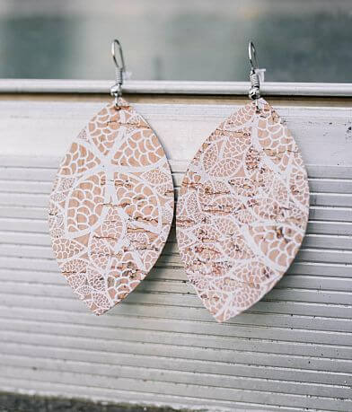 Nichole Lewis Designs Lace Cork Earring