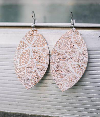 Nichole Lewis Designs Lace Cork Earring