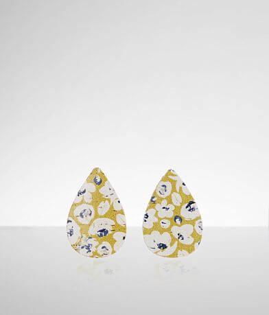 Nichole Lewis Designs Poppy Print Mini Earring