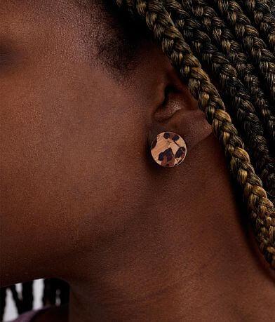 Nichole Lewis Designs Leopard Disc Cork Earrings