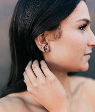 Nichole Lewis Designs Teardrop Druzy Earring