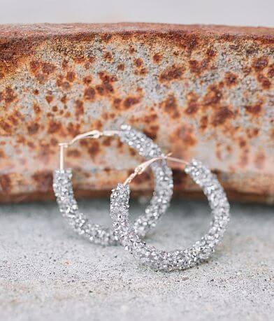 Nichole Lewis Designs Glitz Hoop Earring