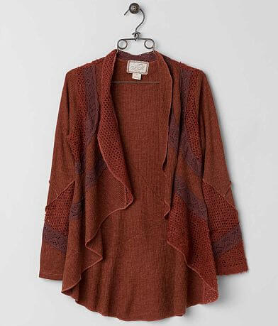 Nick & Mo Ribbed Cardigan Sweater