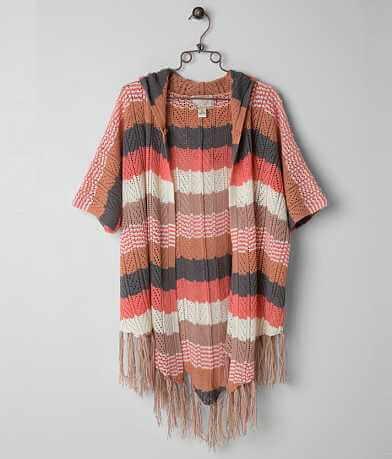 Nick & Mo Striped Cardigan Sweater