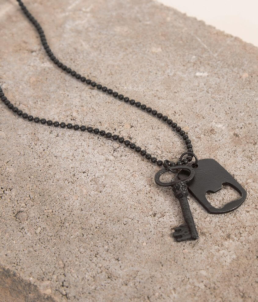 BKE Dog Tag & Key Necklace