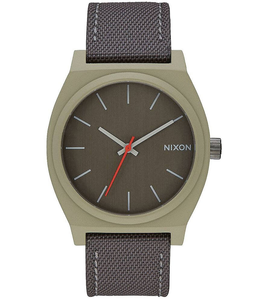 Nixon The Time Teller Watch front view