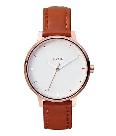 Nixon The Kensington Leather Watch