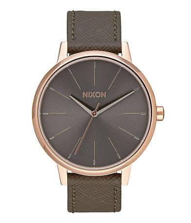 Nixon The Kensington Leather Watch