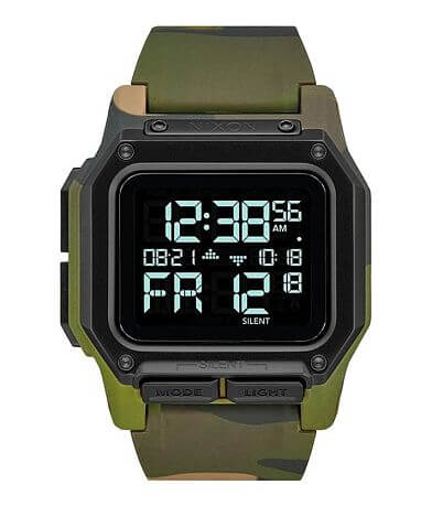 Nixon Regulus Camo Watch