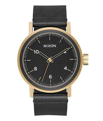Nixon Stark Leather Watch