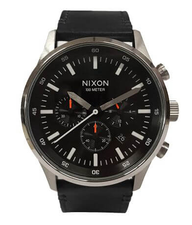Nixon Fremont Leather Watch