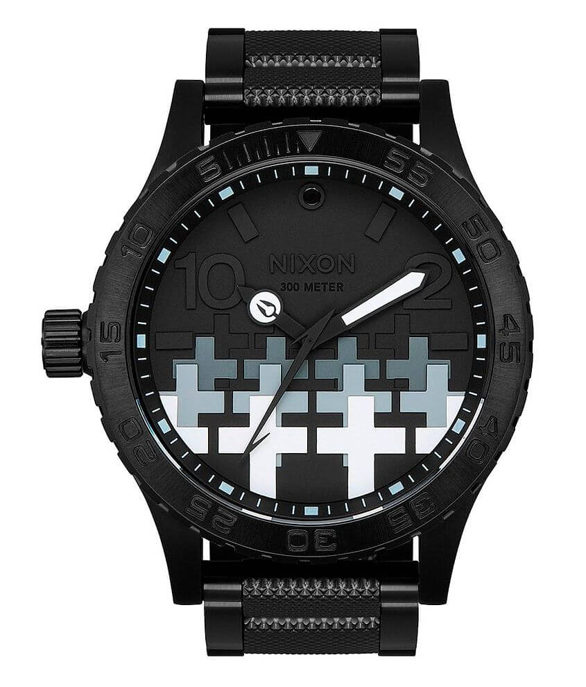 Nixon The 51-30 Master Of Puppets Watch front view