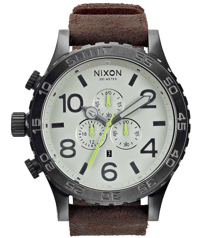Nixon 51-30 Chrono Watch front view