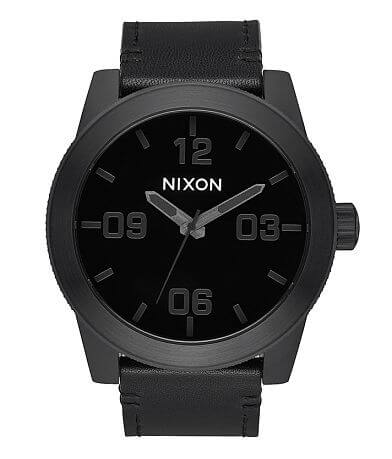 Nixon The Corporal Leather Watch