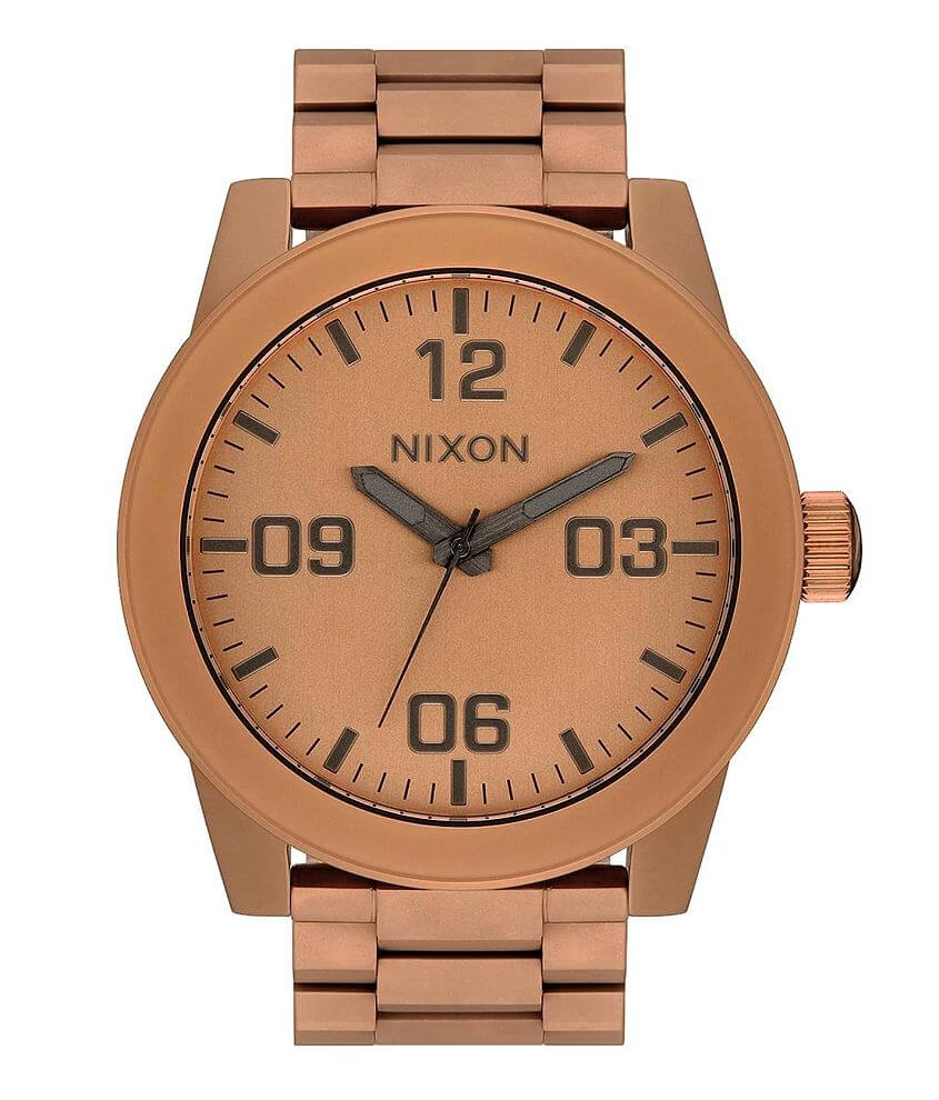 Nixon Corporal SS Watch front view