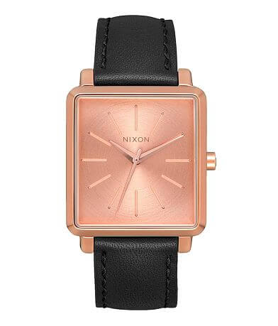 Nixon K Squared Leather Watch