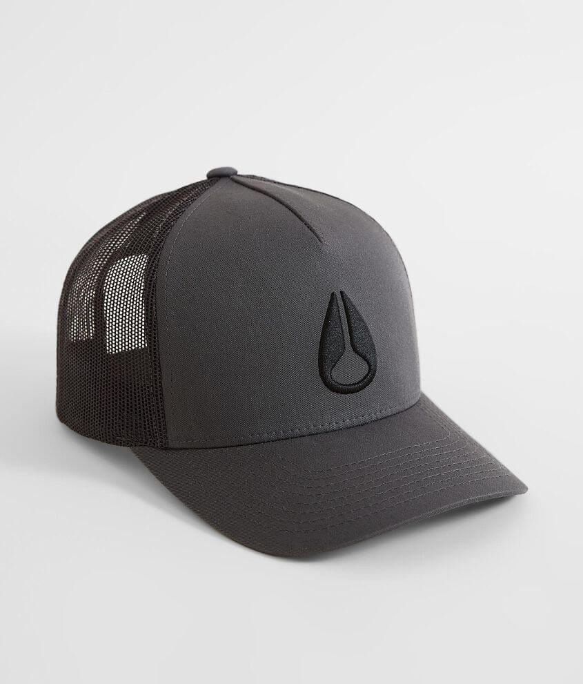 f3426991 Nixon Iconed Trucker Hat - Men's Hats in Charcoal | Buckle