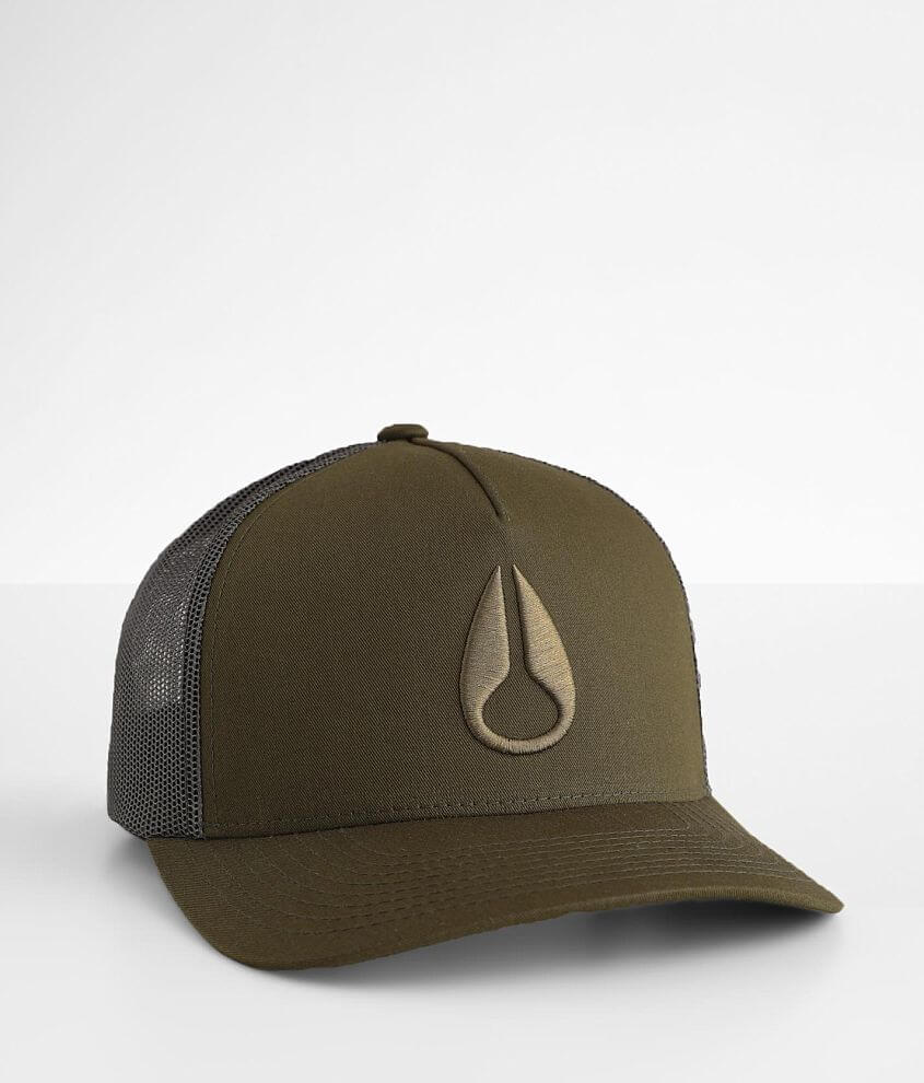 Nixon Iconed Trucker Hat front view