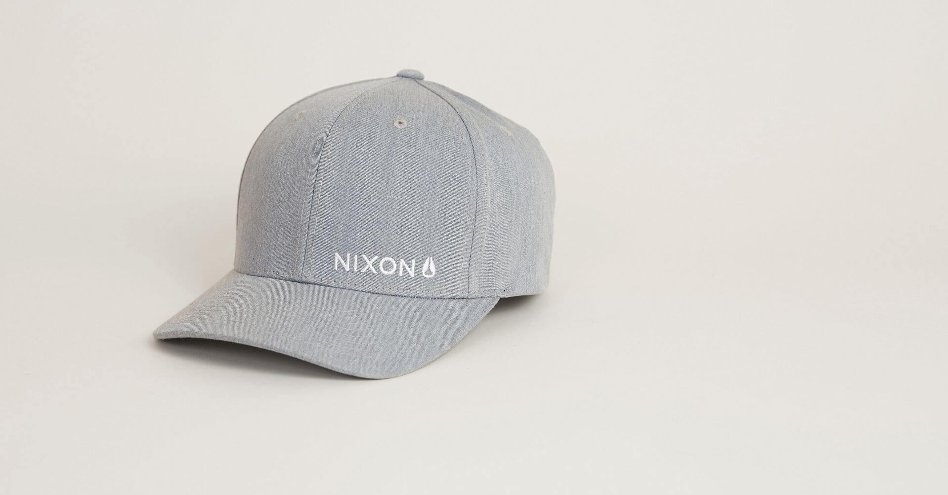 Nixon Lockup Hat - Men s Hats in Heather Grey  145c8f3b8227