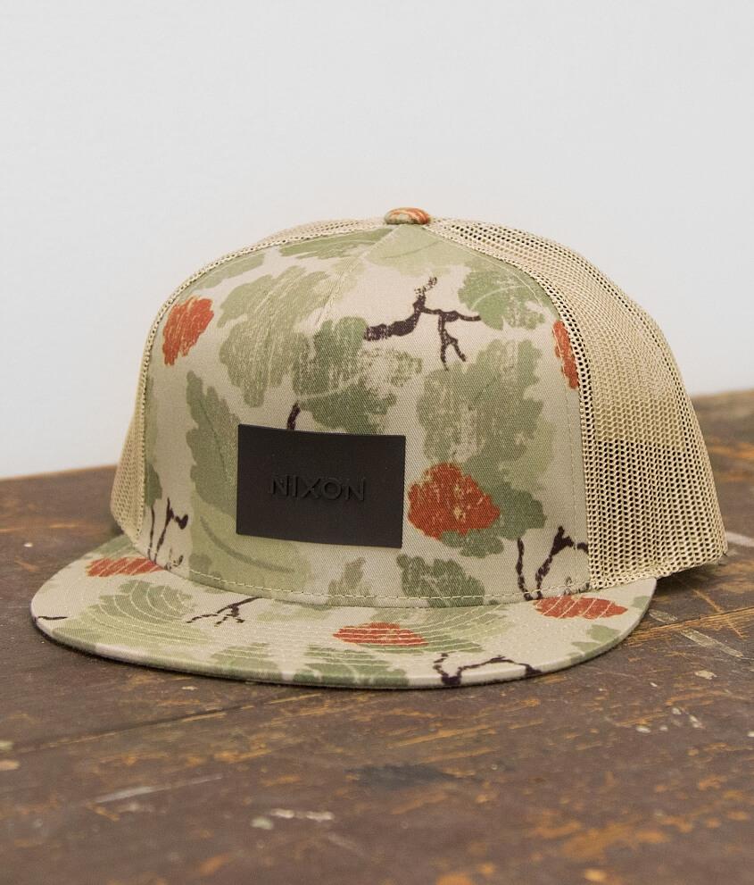 60cce3b29b3 Nixon Team Trucker Hat - Men s Hats in Khaki Camo